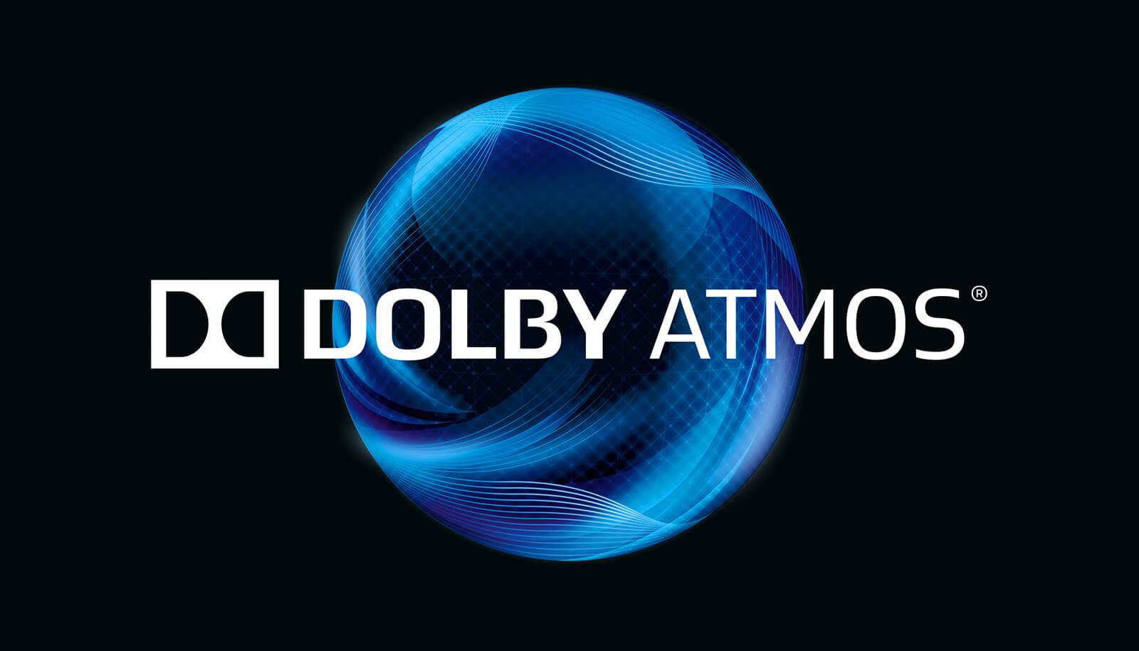 dolby digital dolby atmos packaging branding - blue