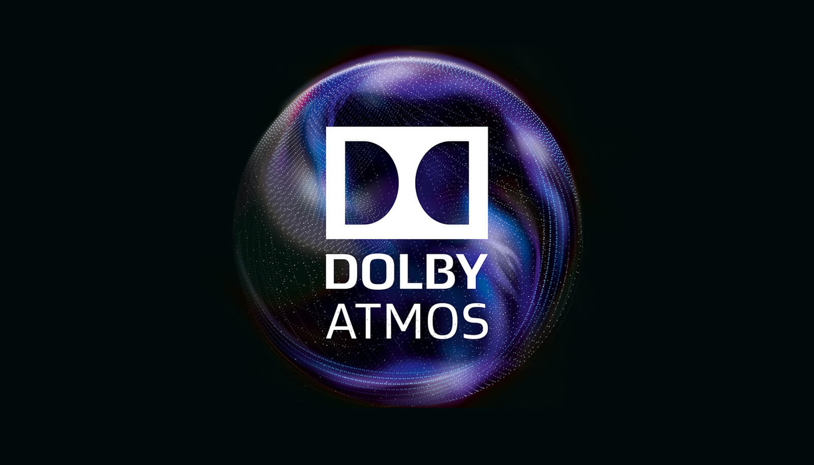 dolby digital dolby atmos packaging logo - purple