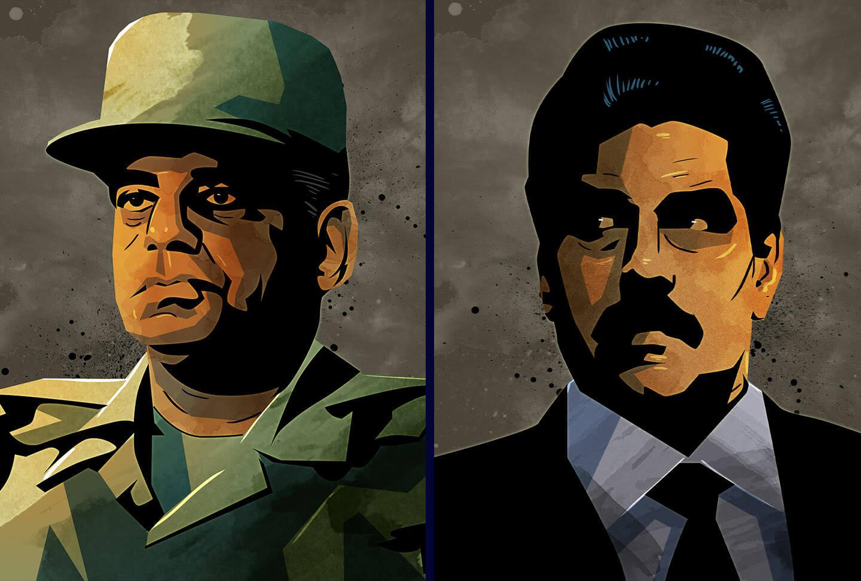 Nicolas Maduro dictator illustration signalnoise