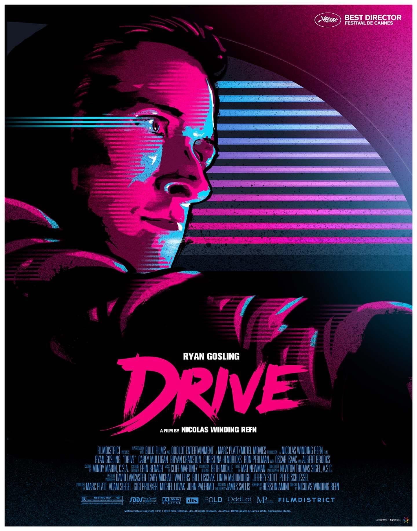 drive movie poster studiocanal signalnoise james white