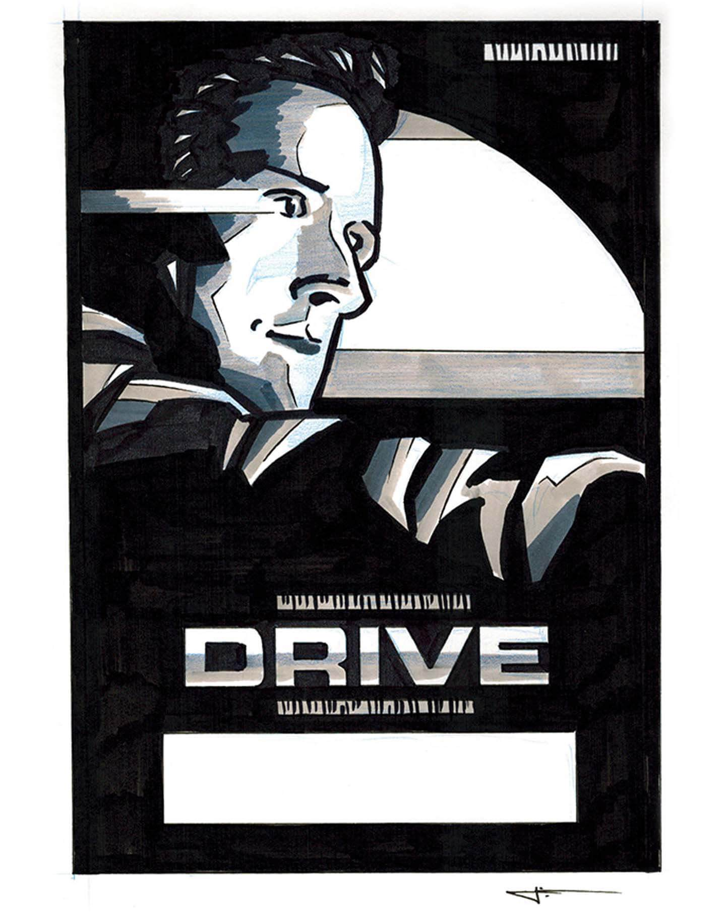 drive sketch poster studiocanal signalnoise james white